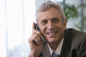 Pension Advisor on the Phone